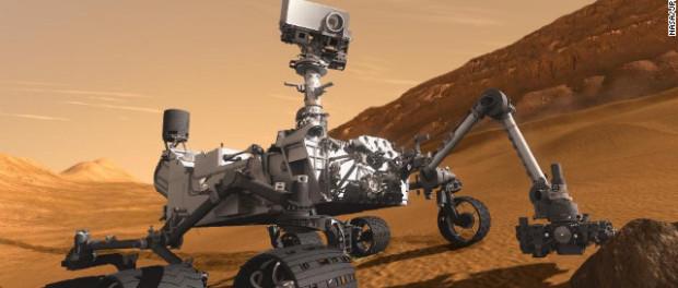 NASA Mars Curiosity