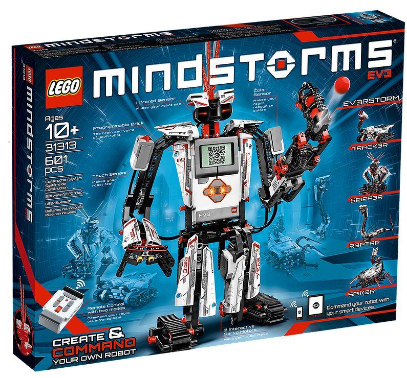 Lego Mindstorms EV3 box