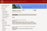 http://www.scu.edu/ethics/practicing/focusareas/cases.cfm