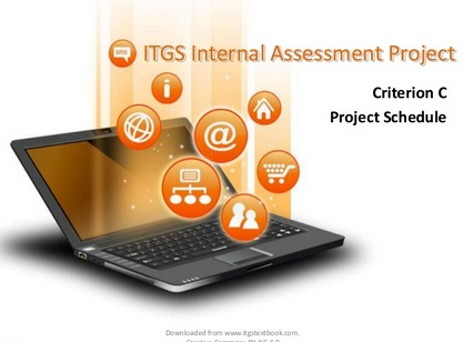 ITGS Project criterion C