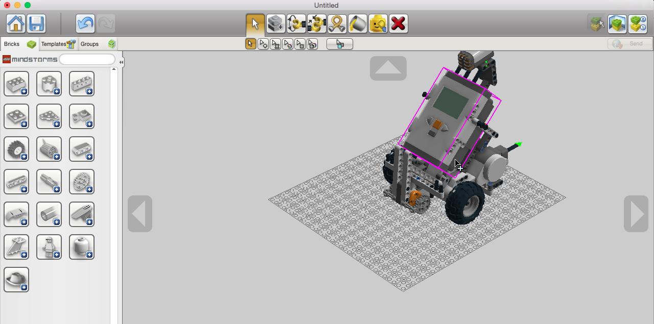 Lego robot simulator virtual robotics toolkit itgs news mindstorms nxt ldd pronofoot35fo Images