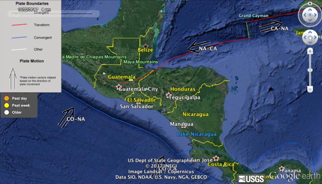GIS earthquake data
