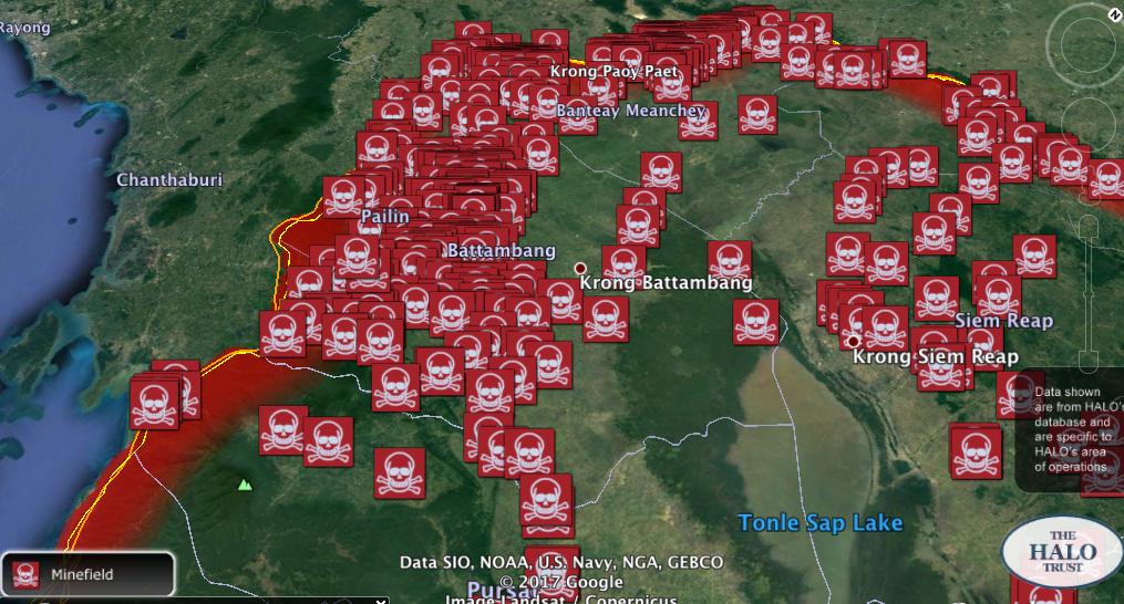 GIS minefields