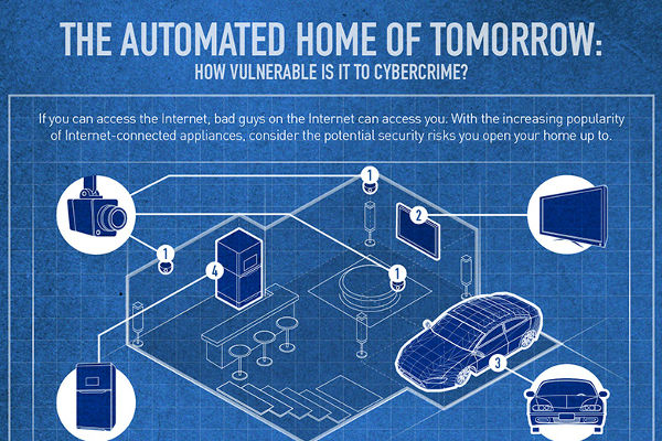 Smart homes infographic