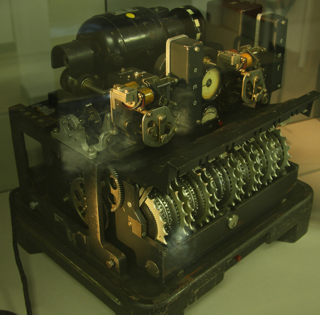 German Lorenz SG40 cipher machine
