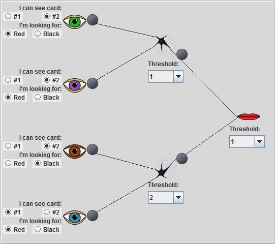 Interactive neural network applet