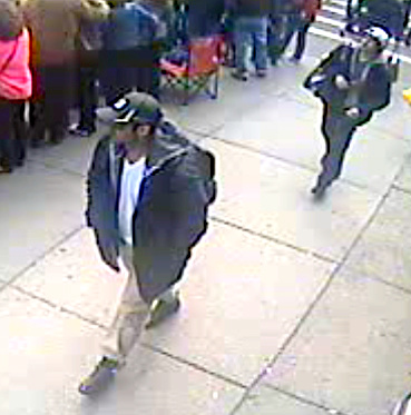 CCTV from Boston Marathon Bombings