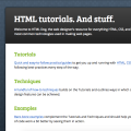 Web design tutorials for ITGS