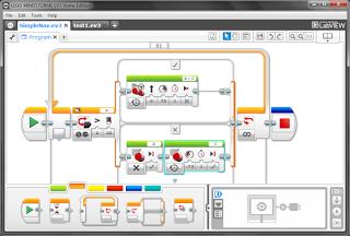 Lego EV3 robotics software