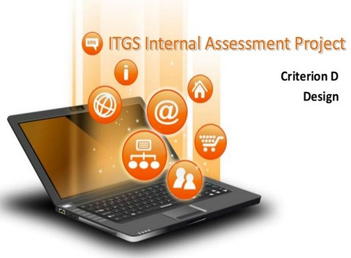 ITGS project criterion D
