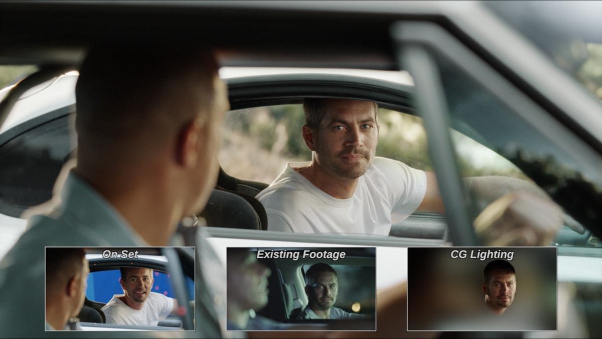 CGI in Furious 7